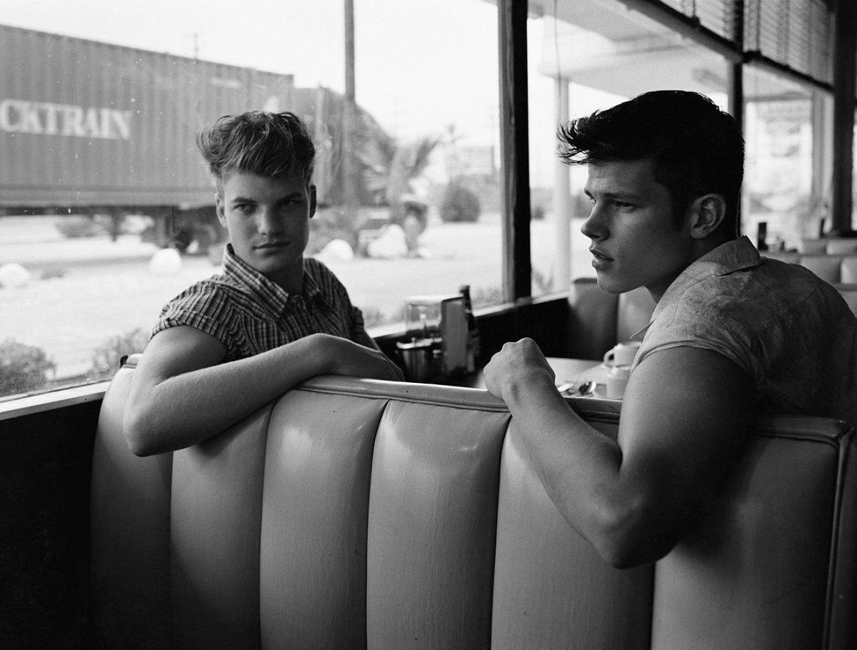 Ben and Matt, Sun Valley, 2005