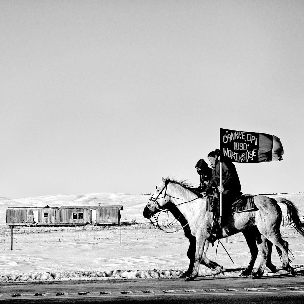 Matt Black: Commemoration of the Wounded Knee Massacre, Pine Ridge, South Dakota, USA, 2016 © Matt Black / Magnum Photos