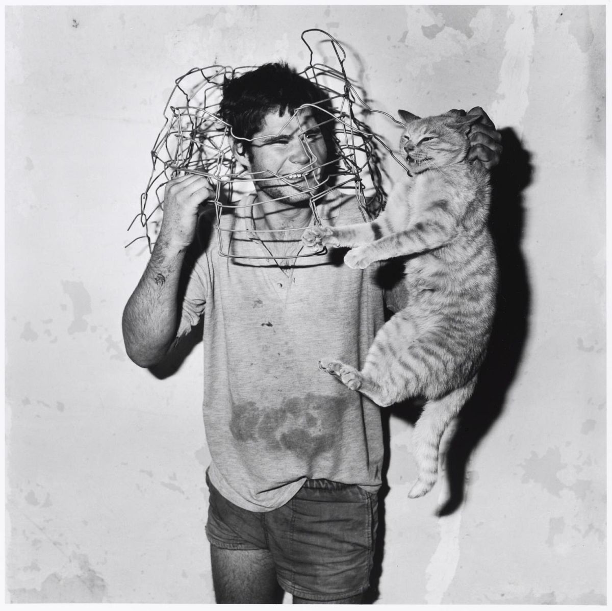 Roger Ballen: Cat Catcher, 1998 © Roger Ballen