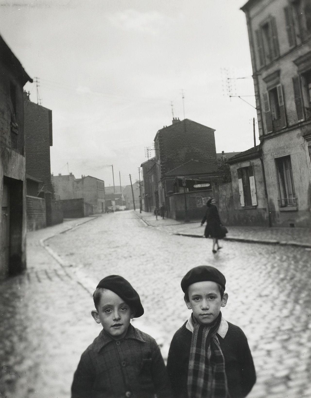 Louis Stettner: Aubervilliers, France, 1947
