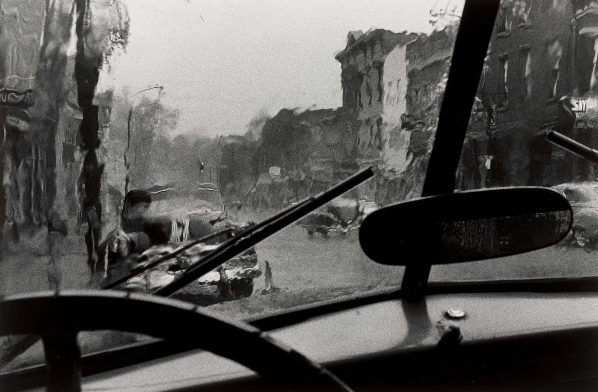 Louis Stettner: Windshield, Upstate New York, 1954
