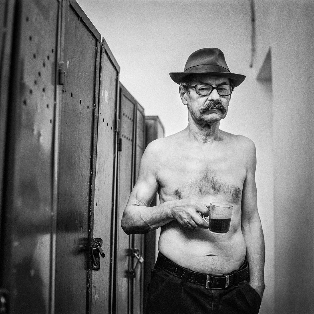 © Przemysław Kot: Men's cloakroom / MonoVisions Photography Awards 2020 winner
