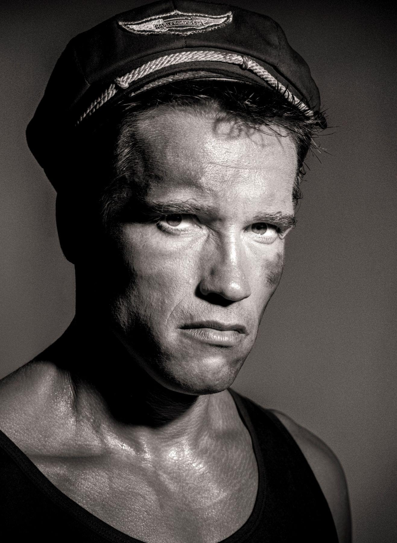Arnold Schwarzenegger, Beverly Hills, 1985