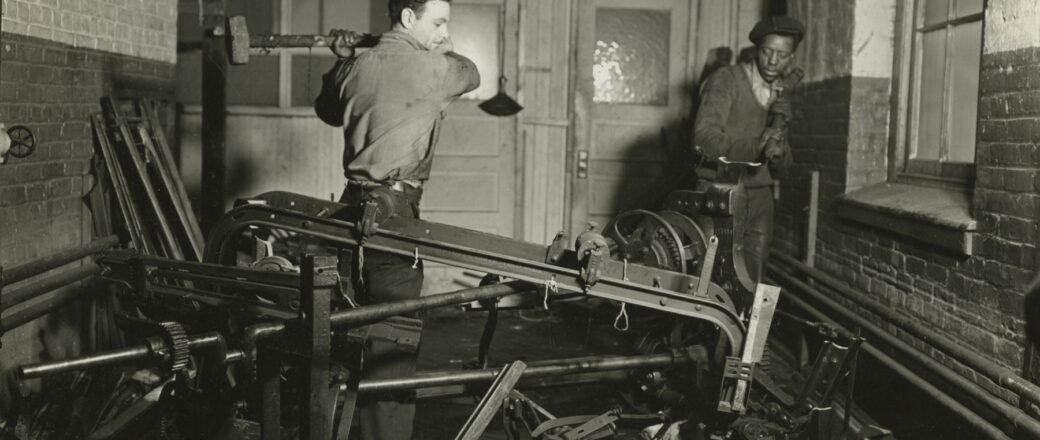 Lewis Hine: The WPA National Research Project Photographs, 1936-37