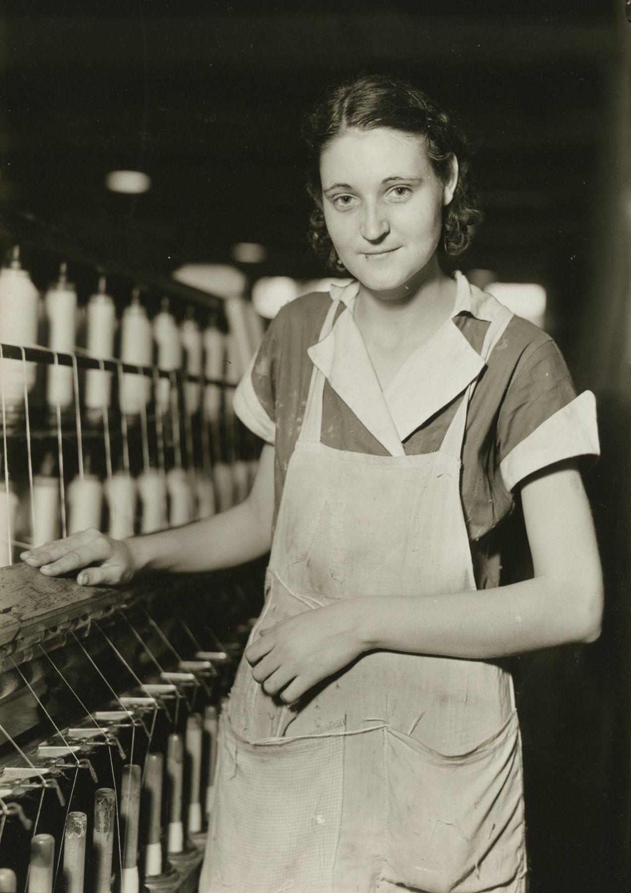 Picket Yarn Mill, High Point, North Carolina, 1936-37