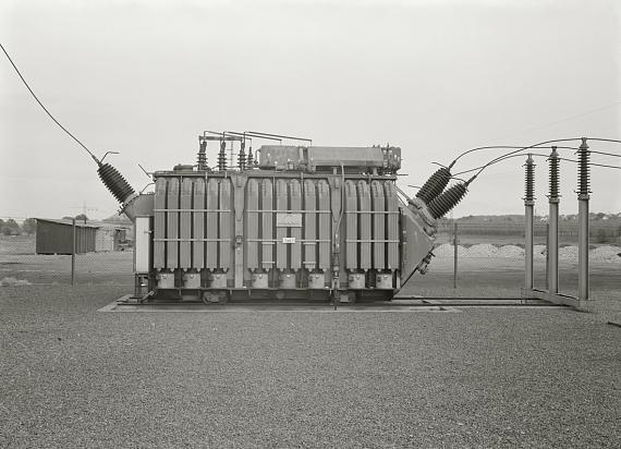 Bernd & Hilla Becher: Transformator, Bous, Saarland, D 1970 © Estate Bernd & Hilla Becher/Max Becher in Zusammenarbeit mit der Photographischen Sammlung/SK Stiftung Kultur, Köln